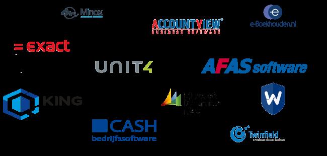 voorbeelden softwarepakketten koppeling Payt