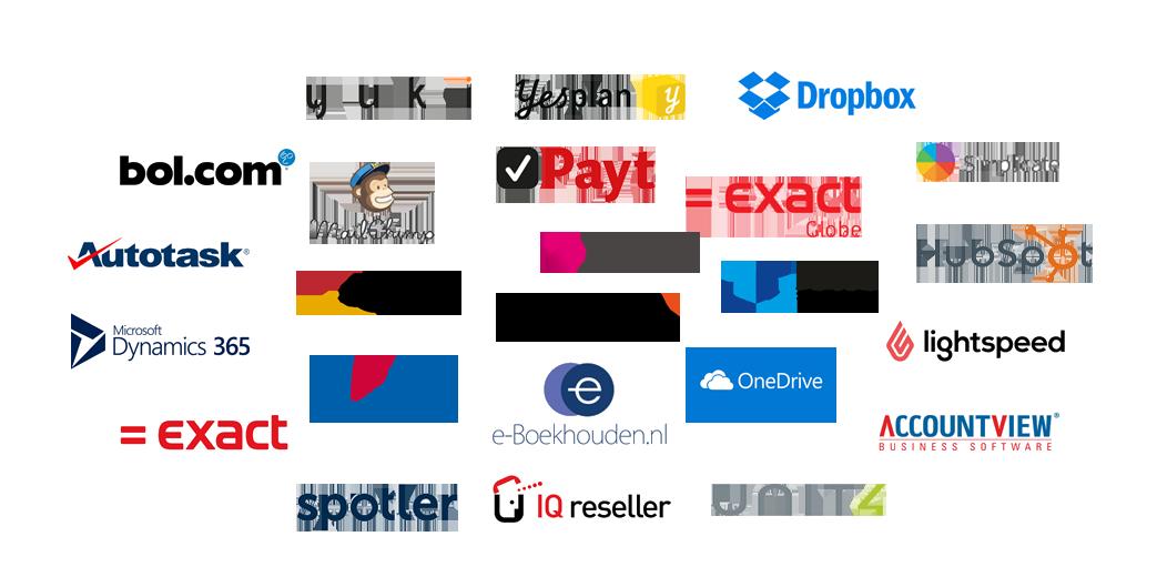 Bestaande softwarepakketten koppelen